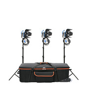 Studio Tungsten Lights Kit 3 x Junior Fresnel 300W