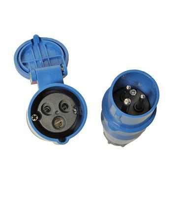 Power Plugs CEE 2P+E male & female