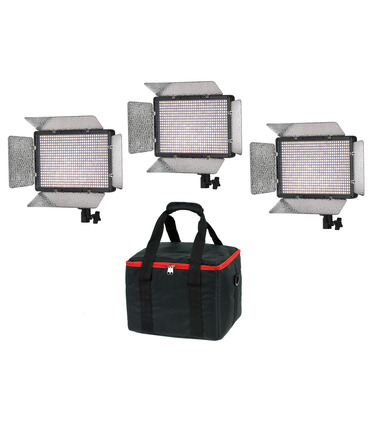 KIT 3 x LED Panel PL680 - Bi-Color
