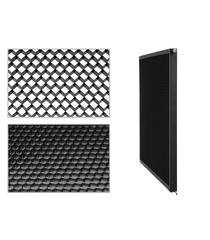 Dense Filter + Honeycomb Louver