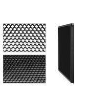 Video Light LED Panel - Diffusion Filter + Honeycomb Grid