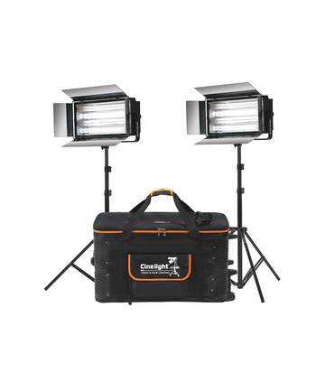 Kit 2 x Studio Cool 110W / 220W - Fluorescent Lights