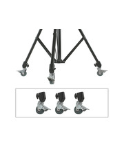 Stand Accessory - Wheels - 22mm