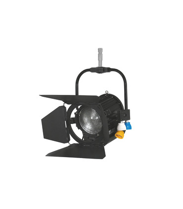 Studio Fresnel 1000 watts - Pole Operated (black)