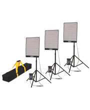 "CineFLEX ""L"" 100W Bi-Color 3-Light Kit"