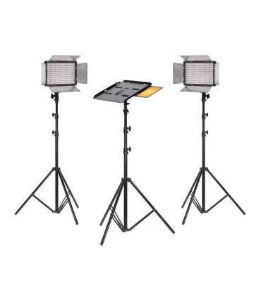 Home Videoconference Bi-Color Light Kit