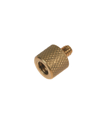 """Screw adapter 3/8"""" Female to 1/4"""" Male"""