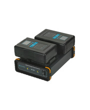 Film Studio Accessory Quick Dual Battery Charger - V-Mount